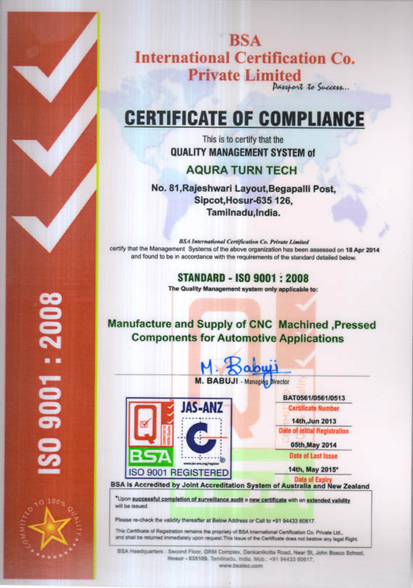 ISO 2014 -15 001